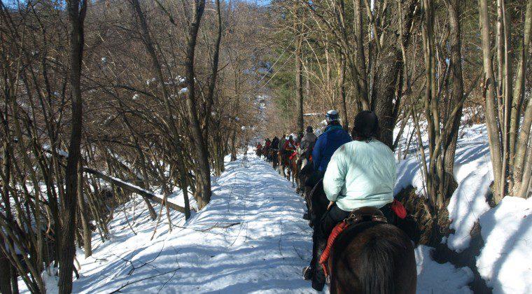 A Lurisia…in sella per tutto l'inverno!