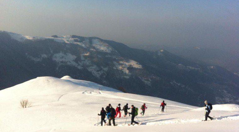 Sul Monte Pigna…con le ciaspole!