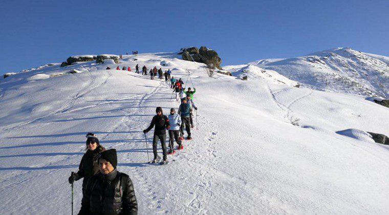 """Ciaspolata """"Sociale"""" in Valle Ellero: 23 febbraio, appuntamento Top!"""