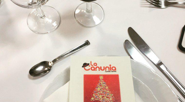 Cena sociale 2018: un anno con La Canunia…pronti al 2019!